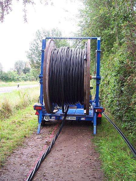 Kabel verlegen