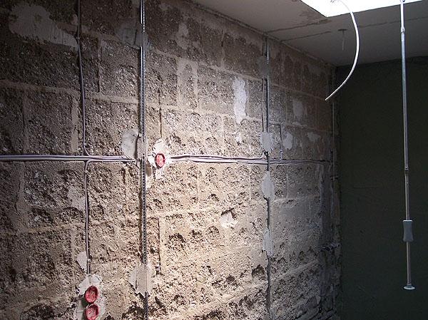 Rohbau-Installation