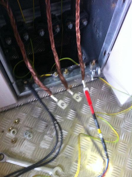 Kabel-Mantel-Prüfung