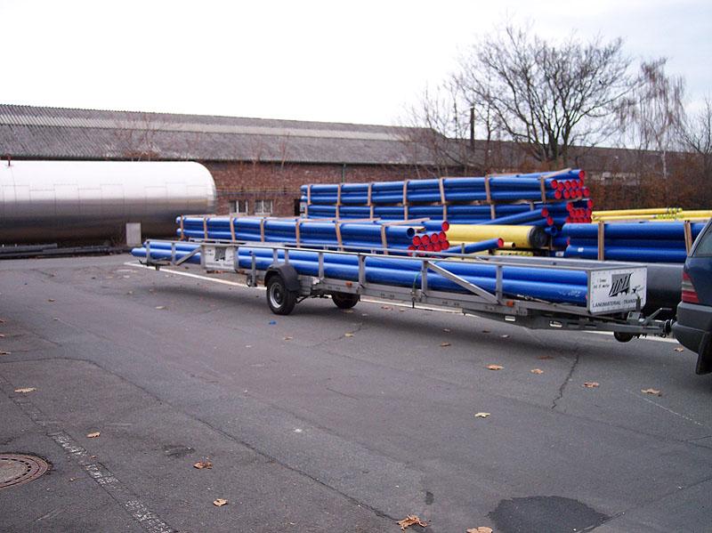 Gas- und Wasser-Rohrtransporte PE
