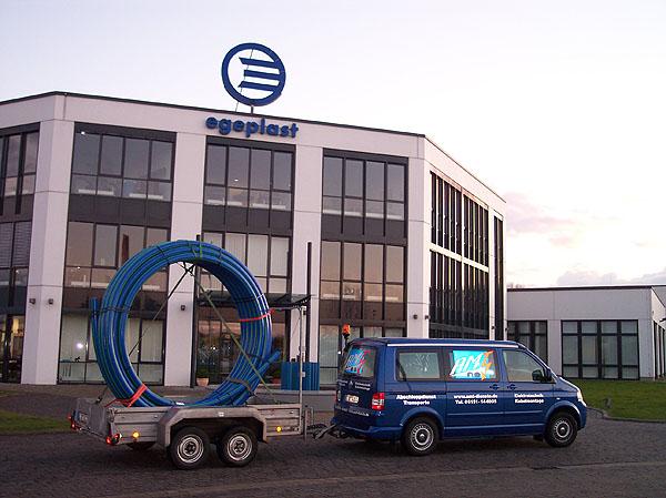 PE-Ringbund Transport